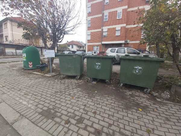 """""""нформативни табли за забрането фрлање отпад"""